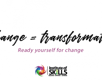 Change can be your transformation
