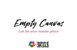 """""""Empty"""" can give you a """"master piece"""""""