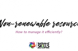 The Non- renewable resource